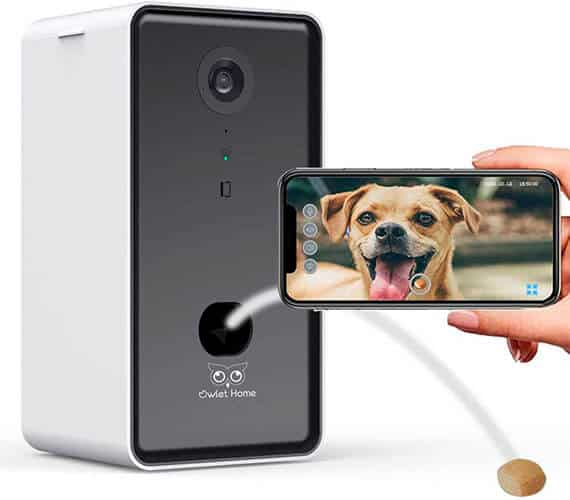 Owlet Home Pet Camera with Treat Dispenser
