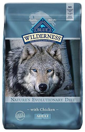 Blue Buffalo Blue Wilderness Adult Dogs Chicken Recipe