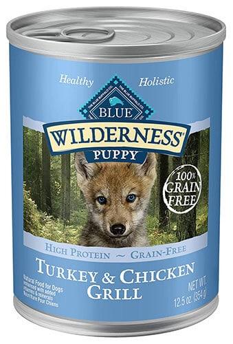 Blue Buffalo Blue Wilderness Puppies Turkey & Chicken Grill