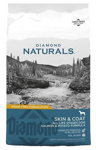 Diamond Naturals Skin & Coat All Life Stages Dog Salmon & Potato Formula