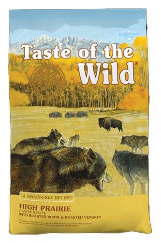 Taste of the Wild High Prairie Canine Recipe Venison High Protein Dog Food