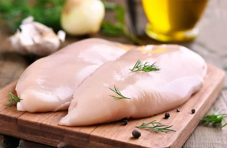Chicken breast for dog