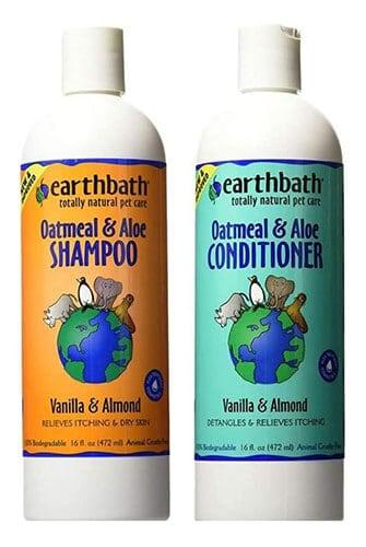 Earthbath Oatmeal & Aloe Pet Grooming Bundle