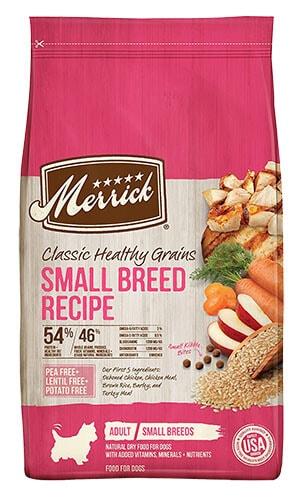 Merrick Classic Healthy Grains Small Breed Recipe