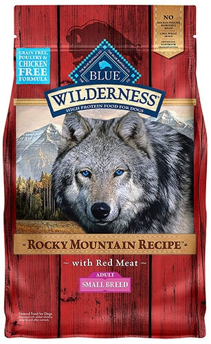 Blue Wilderness Rocky Mountain Recipe Small Breed Dry Dog Food